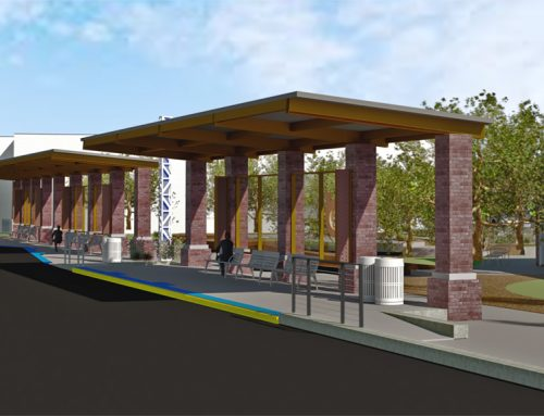 BX BRT EAST TRANSIT CENTER